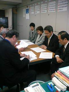 北富士演習場での「移転訓練」で火器の実弾訓練を拡大を認めないよう県に要請しました