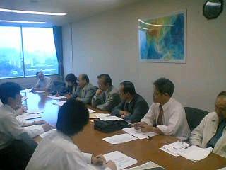 来年度予算要望省庁交渉を行いました。