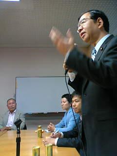 志位委員長の代表質問の傍聴を聞きに国会にいきました。