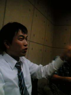 熱く医療を語る谷川さん。