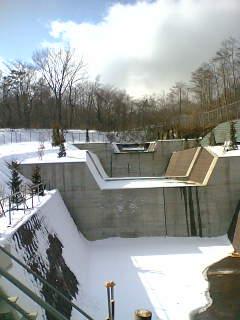 山中湖調節池問題で現地調査にいきました。その2