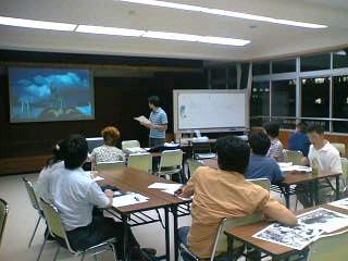 山梨県の学生中心の原水禁世界大会報告会に参加しました。