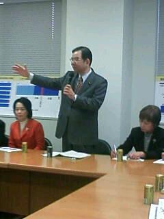 志位委員長の予算委員会質問を傍聴しました。