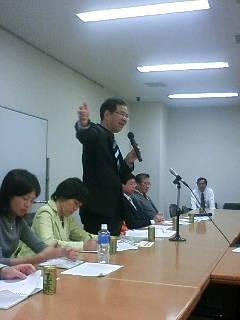 志位委員長の代表質問の傍聴をしました。