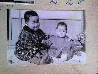 子どもの頃の写真